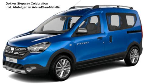 dacia dokker stepway celebration 2018 dacia dokker stepway 2018 dacia dokker stepway 2018 couleurs colors 2018 dacia dokker stepway
