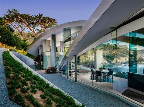 butterfly shaped concrete glass steel house   minimalist masterpiece idesignarch interior design architecture interior