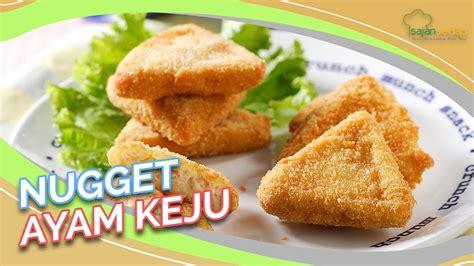 Tidak hanya mudah dibuat, rasanya juga mantap! Resep Nugget Ayam Keju, Rahasia Bujuk Anak Susah Makan - YouTube