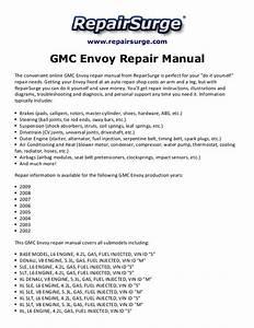 Gmc Envoy Repair Manual 2002