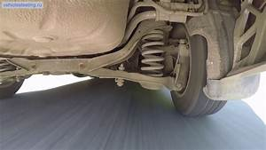 Ford Focus 2 Rear Suspension Working On Public Roads