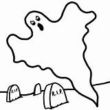 Ghost Coloring Pages Printable Halloween sketch template