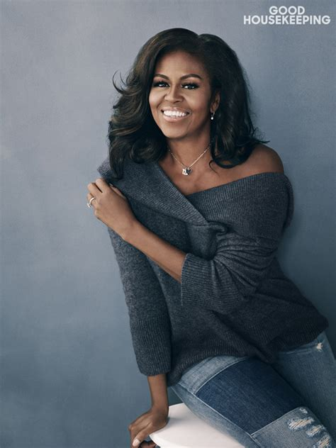 obama michelle malia housekeeping magazine becoming miller smile barack years mobley january after kembali hips issue