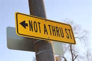 High Resolution Street Signs