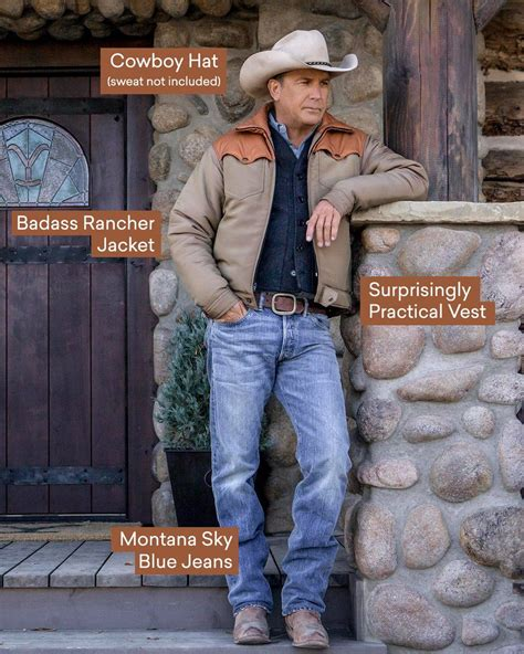 yellowstone kelly reilly kevin cowboy costner jeans grimes luke hats official western series