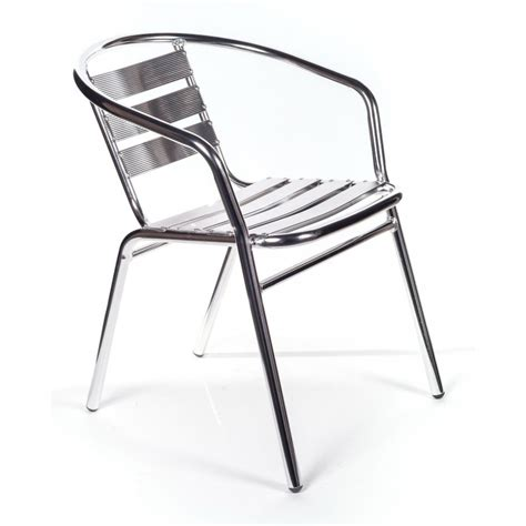 sedie in alluminio per esterno 6 sedie alluminio impilabili per bar san marco