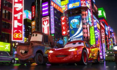 Disney Pixar Cars 2 Images Mater And Lightning In Tokyo