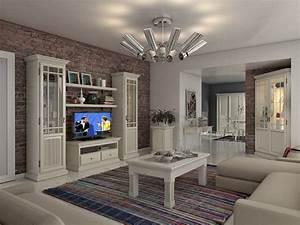 Wohnzimmergestaltung Mit Tapeten : wohnzimmergestaltung landhaus ~ Sanjose-hotels-ca.com Haus und Dekorationen