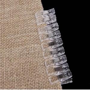 9 ชิ้น Clear Plastic Clip Clamp for Fabric Quilting ...