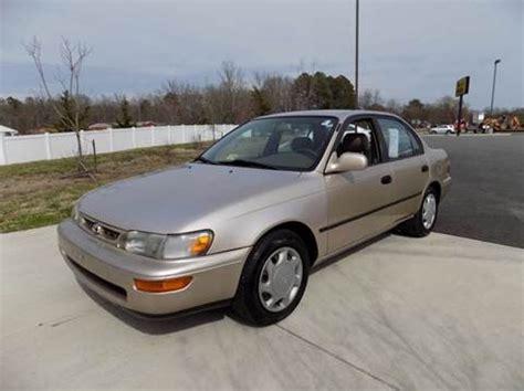 1997 Toyota Corolla For Sale Carsforsalecom
