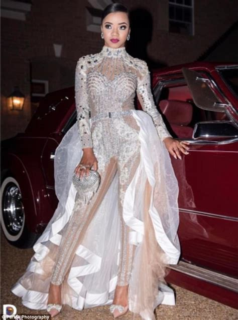 Teen wows at prom in $2kKylie Jenner-inspired jumpsuit ...