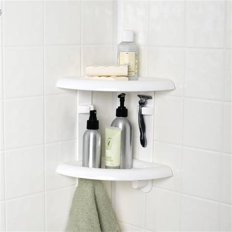 mainstays  shelf corner shower caddy walmartcom