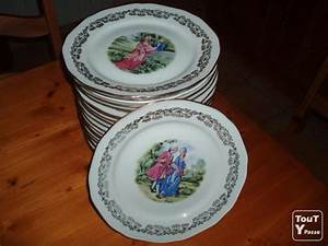 Service Vaisselle Porcelaine : service de table marquise ~ Teatrodelosmanantiales.com Idées de Décoration