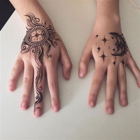 popular mehndi tattoo designs