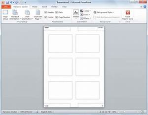 how to create powerpoint slides handouts With powerpoint handout template