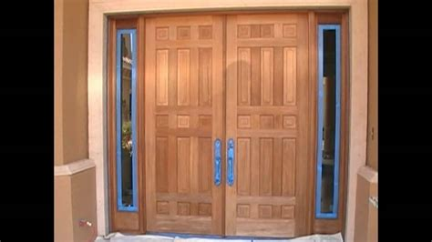 staining wood doors how to stain mohagany doors