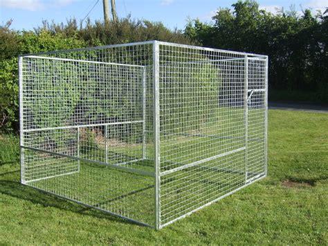 dog kennels pens steel garden sheds