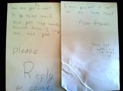kids write   hilarious letters  camp