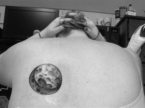 bear  moon tattoo  full moon moon nature realistic tattoos pinterest