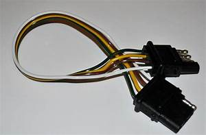 New 12 U0026quot  Trailer Light Wire Harness 4