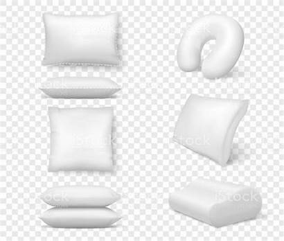 Cushion Realistic Square Mock Fluffy Comfortable Pillows