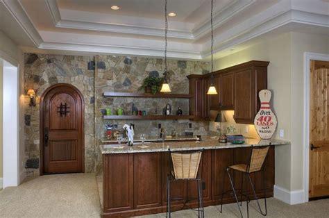 deco pierre pour les murs de la cuisine en  exemples