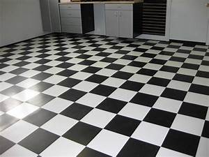 Rules of proper use of black and white ceramic floor tiles ...