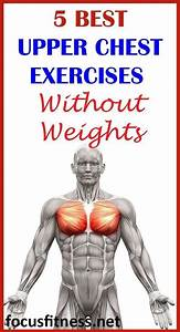 If You Want To Build Upper Chest Muscles Without Using Weights  This Article Will Show You The