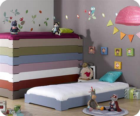 ma chambre d enfants lit enfant empilable bleu chine 90x190 cm vente mobilier