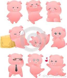 Funny Pig Cartoon Drawings