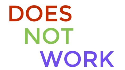 Does Not Work - JoomlaWorks