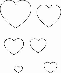 heart stencil clip art at clkercom vector clip art With small heart template to print