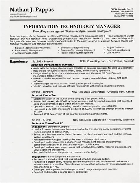 Personal Information Section In Resume by Resume Sles