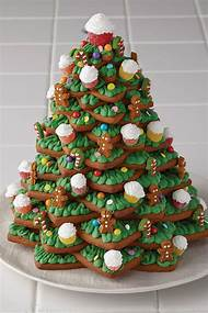 gingerbread christmas tree decoration - Gingerbread Christmas Tree Decorations