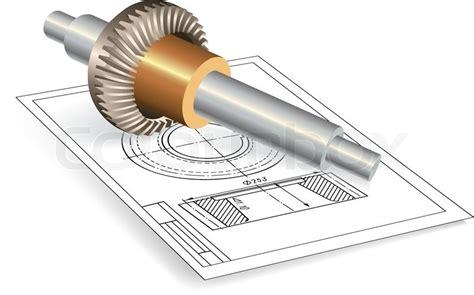Service, Auto, Automobile, Automotive Part. Vector Clip