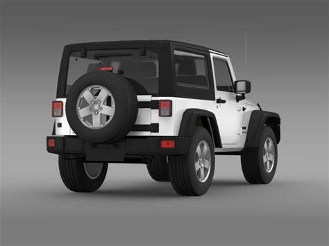 jeep models 2008 jeep wrangler uk sport 2008 3d model max obj 3ds fbx
