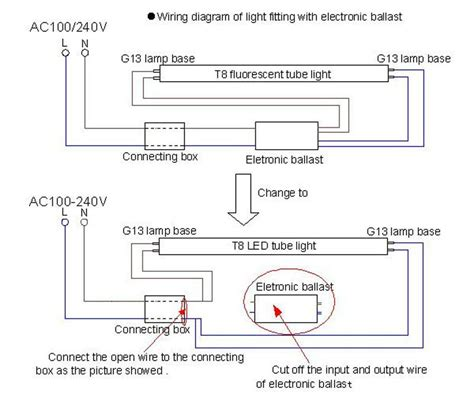 Philip Led T8 Wiring Diagram by T8 4ft Led Light 18w 20w 22w 1200mm Ac 85 265v