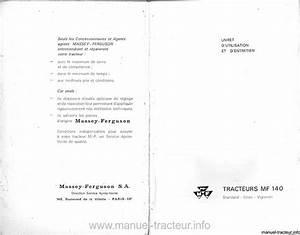 Controle Technique Ploemeur : livret entretien massey ferguson mf 140 ~ Nature-et-papiers.com Idées de Décoration