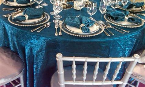 Turquoise Crush ? PS Event Rentals