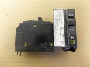 Square D 120v 20a Single Pole Shunt Trip Breaker Wiring