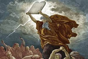 Moses and the 10 Commandments Bible Story Study Guide