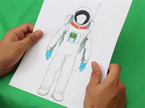 draw  astronaut  pictures wikihow