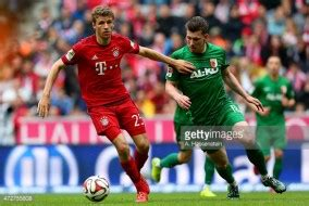 Bayern smash five against augsburg as lewandowski breaks muller's record. Bayern Munich Vs FC Augsburg - German Bundesliga