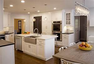 25 stunning transitional kitchen design ideas for Transitional kitchen designs