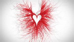 Red love heart wallpaper, free hearts wallpapers | Simple ...