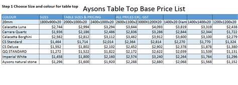 dining tables aysons marble granite pty