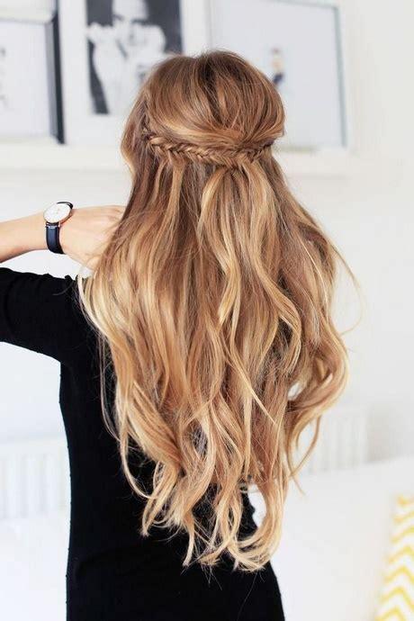 festliche frisuren offene haare locken