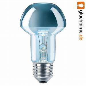 Glühbirne 40 Watt : philips gl hbirne nr63 40w e27 kopfspiegel reflektor silber gl u ~ Frokenaadalensverden.com Haus und Dekorationen