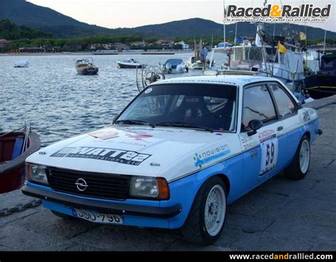 Opel Ascona For Sale by Opel Ascona B Gruppe 2 Historic Rally Car Rally Cars For