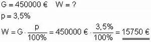 Prozentwert Berechnen Formel : musterbeispiele zur prozentrechnung ~ Themetempest.com Abrechnung